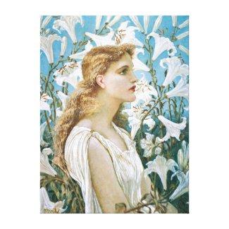 Walter Crane: Lilies