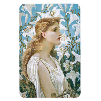 Walter Crane: Lilies Magnet