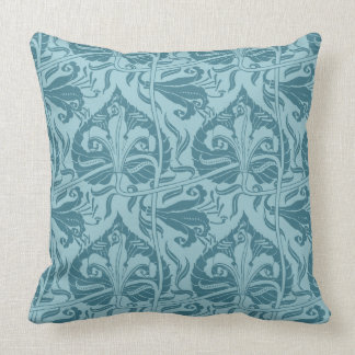 Walter Crane Lily Pattern Pillow