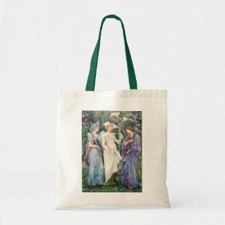 Walter Crane: Signs of Spring Tote Bag