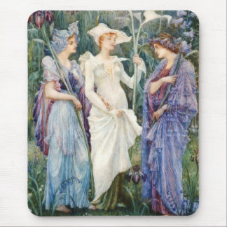 Walter Crane: Signs of Spring Mousepads