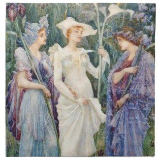 Walter Crane: Signs of Spring
