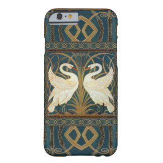 Walter Crane Swan, Rush And Iris Art Nouveau Barely There iPhone 6 Case