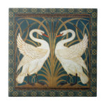 "Walter Crane Swan, Rush And Iris Art Nouveau Ceramic Tile<br><div class=""desc"">Walter Crane Swan, Rush And Iris Art Nouveau Vintage Art Walter Crane was an English artist and book illustrator. He is considered to be the most influential, and among the most prolific, children's book creator of his generation and one of the strongest contributors to the child"