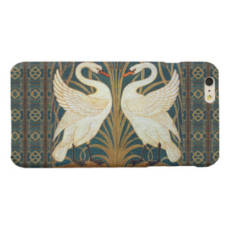 Walter Crane Swan, Rush And Iris Art Nouveau Glossy iPhone 6 Plus Case
