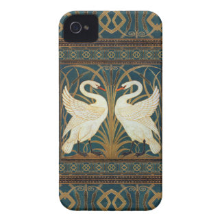 Walter Crane Swan, Rush And Iris Art Nouveau iPhone 4 Cover