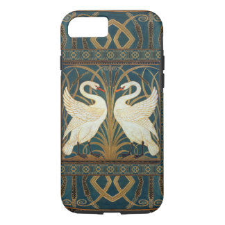 Walter Crane Swan, Rush And Iris Art Nouveau iPhone 7 Case