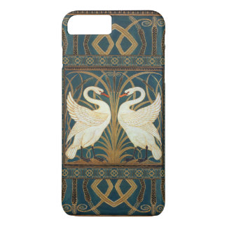 Walter Crane Swan, Rush And Iris Art Nouveau iPhone 7 Plus Case