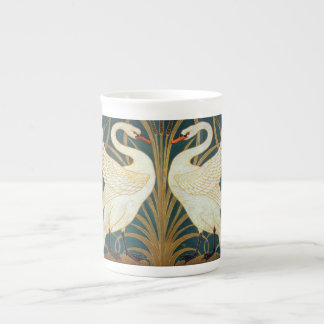 Walter Crane Swan, Rush And Iris Art Nouveau Tea Cup