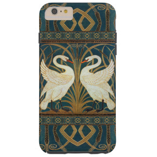 Walter Crane Swan, Rush And Iris Art Nouveau Tough iPhone 6 Plus Case