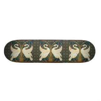 Walter Crane Swan, Rush And Iris Skate Board Deck