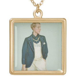 Walter Erskine-Crum, illustration from 'Men of the Square Pendant Necklace