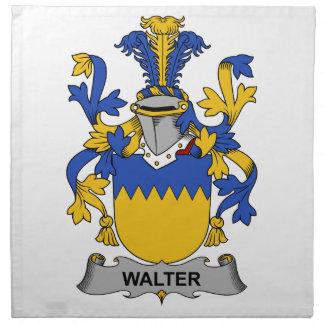 Walter Family Crest Cloth Napkin