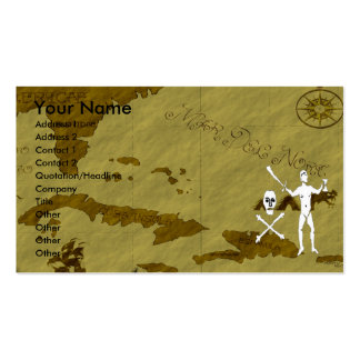 Walter Kennedy Map #9 Double-Sided Standard Business Cards (Pack Of 100)