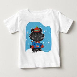Walter Mitty Kitty Baby Tess Baby T-Shirt