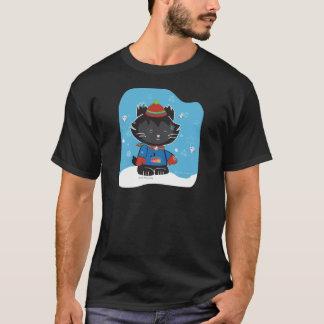 Walter Mitty Kitty Basic Dark T-shirt