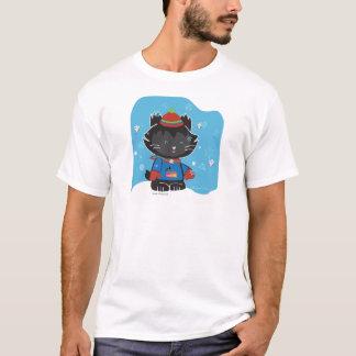 Walter Mitty Kitty Basic T-shirt