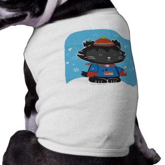 Walter Mitty Kitty Dog Shirt