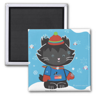 Walter Mitty Kitty Magnet