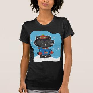 Walter Mitty Kitty Women's Dark T-Shirt