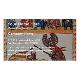Walter Of Blades In The Tournament By Meister Der Double-Sided Standard Business Cards (Pack Of 100)