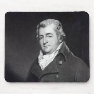 Walter Ramsden Fawkes, engraved by William Say Mouse Pad