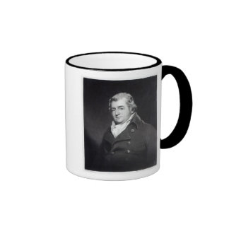 Walter Ramsden Fawkes, engraved by William Say Ringer Mug