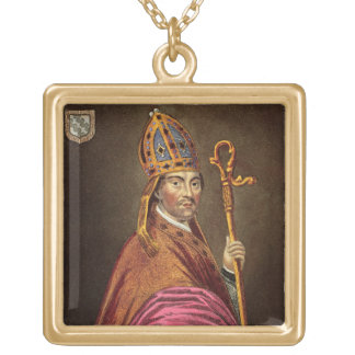 Walter Stapledon (1261-1326), after a painting in Personalized Necklace