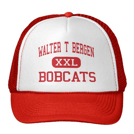 Walter T Bergen - Bobcats - Middle - Bloomingdale Trucker Hat