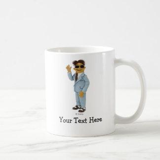 Walter wearing sunglasses coffee mug