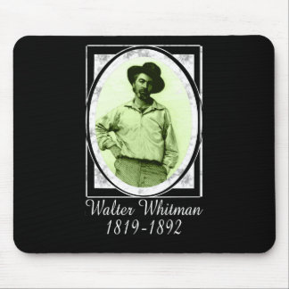 Walter Whitman Mouse Pad
