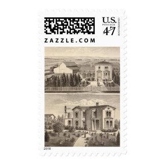 Walters, Crowell residences, farm Postage