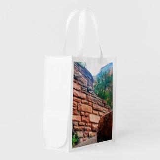 Walters menea el parque nacional Utah de Zion Bolsas Reutilizables