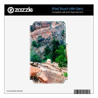 Walters menea el parque nacional Utah de Zion iPod Touch 4G Calcomanía