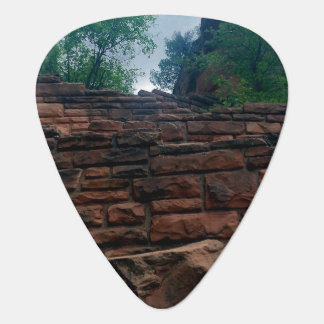 Walters menea el parque nacional Utah de Zion Púa De Guitarra
