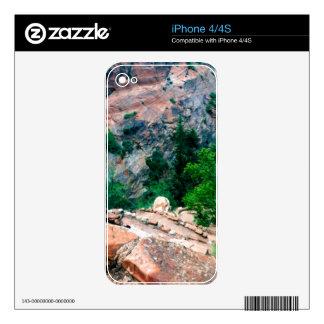 Walters menea el parque nacional Utah de Zion Skins Para eliPhone 4S