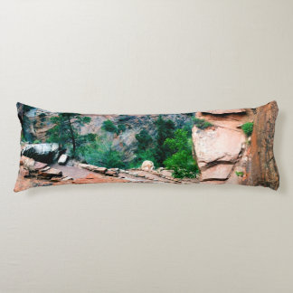 Walters Wiggles Zion National Park Utah Body Pillow