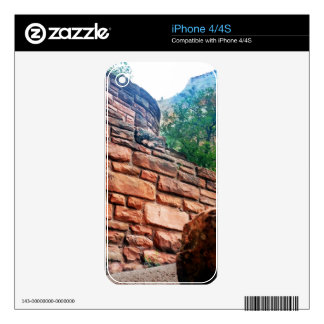 Walters Wiggles Zion National Park Utah Decals For The iPhone 4S