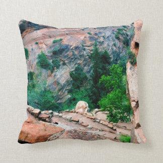 Walters Wiggles Zion National Park Utah Pillow