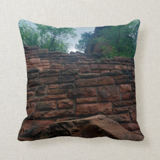 Walters Wiggles Zion National Park Utah Throw Pillow