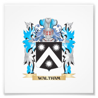 Waltham Coat of Arms - Family Crest Photo Print