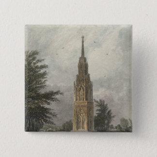 Waltham Cross, c.1820 Pinback Button