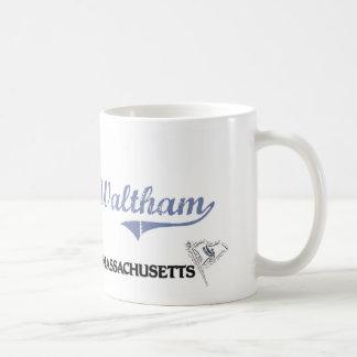 Waltham Massachusetts City Classic Coffee Mugs