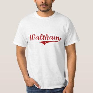 Waltham Massachusetts Classic Design T-Shirt