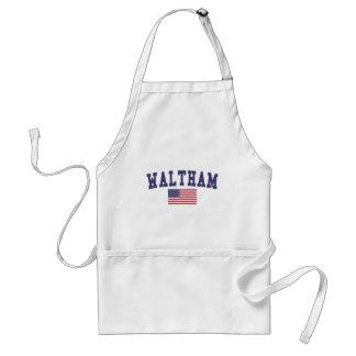 Waltham US Flag Adult Apron