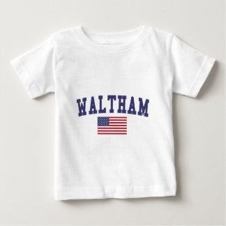 Waltham US Flag Baby T-Shirt