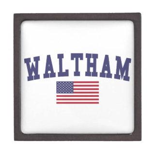 Waltham US Flag Gift Box