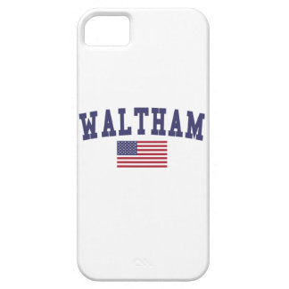 Waltham US Flag iPhone SE/5/5s Case