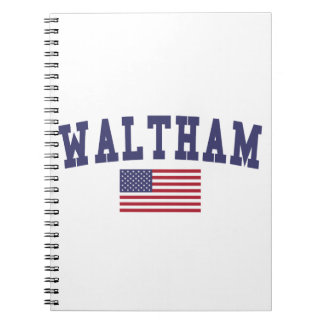 Waltham US Flag Notebook