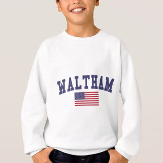 Waltham US Flag Sweatshirt
